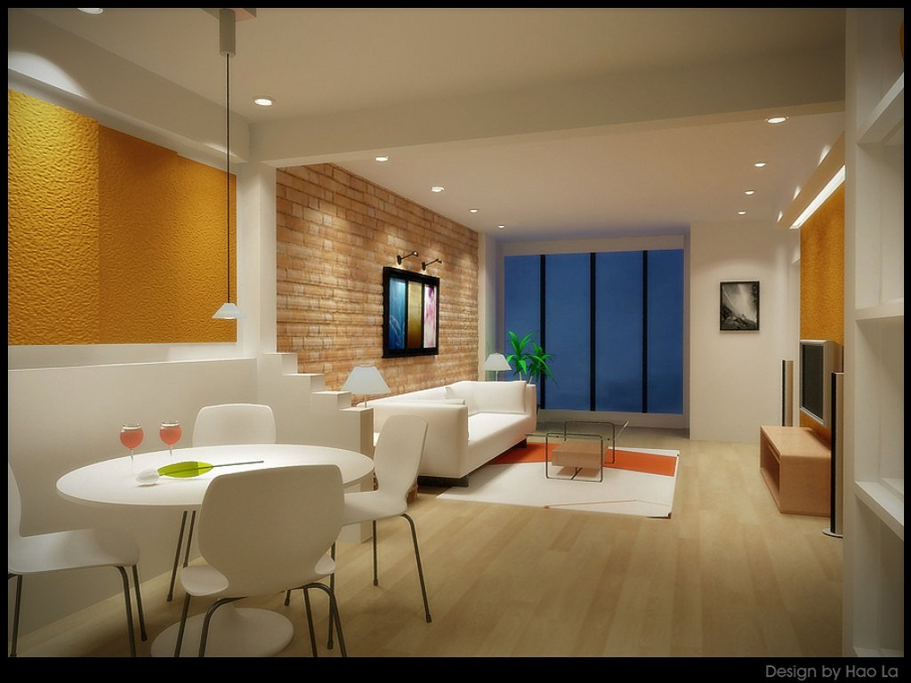 2013 modern white home interior with lighting design ideas - Home lighting design ...